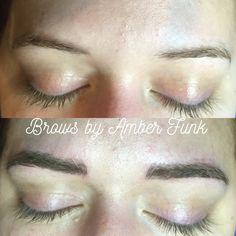 Brow work from today. #microblading #semipermanent #tattoo #cosmetics #makeup #brows #brow #anastasiabeverlyhills #esthetician #esthetics