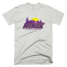 "MTNBK ""Purple Haze"" T-Shirt - New Silver, available on www.MTNBK.com"