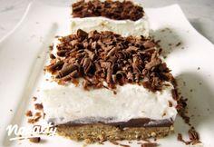 Gesztenyés krémes Flórától | Nosalty Tiramisu, Ale, Cereal, Deserts, Goodies, Food And Drink, Cupcakes, Sweets, Candy