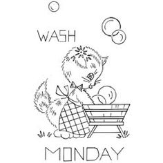 Reference10286  TitleA Kitten a Day - Monday  SubjectDays of the Week  SourceVogart  Instructions    NotesVogart 696