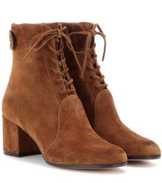 mytheresa.com -  Finlay Mid suede ankle boots - Luxury Fashion for Women / Designer clothing, shoes, bags