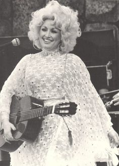 ~ Dolly Parton ~ Dolly's first concert in New York-Bottom Line, May 14, 1977