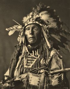 Shot in the Eye • Sioux • 1899