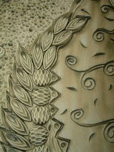 Look here for really great carving and glazing tips  Amy Higgason is awesome