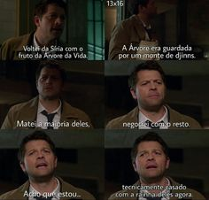 New funny supernatural memes people Ideas Castiel, Supernatural Fandom, Funny Supernatural Memes, Spn Memes, Super Funny Pictures, Funny Images, Jensen Ackles, Funny People Quotes, Emo