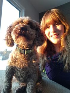 Selfie with Travis. So glad this crazy little street poodle is now in our life! Miracle Stories, Poodle, Dog Cat, Selfie, Street, Dogs, Animals, Animaux, Poodles