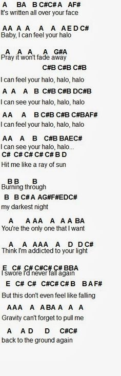 Flute Sheet Music: Beyonce