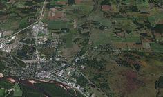 Ville de Portage dans le Wisconsin Ligne de partage des eaux entre les grands lacs par la rivière des renards qui coule du Sud au nord et le golfe du Mexique par la rivière Wisconsin et le Mississippi.