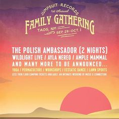 Yet another awesome thing about the 1st Annual @jumpsuitrecords Family Gathering to be held in Taos NM is a fire pit on the dance floor at night! It's gonna get tribal folks.  And just a heads up to those of you planning on attending the gathering... Early Bird tix sold out within a few days... and now Tier One tix are about to sell out... probably by tonight or tomorrow morning. Head over to the official Jumpsuit Family Gathering FB page for more info. We'll also have some more exciting…