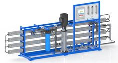 Pure Aqua manufactured & supplied a #Brackish #Water #Reverse #Osmosis Unit to a major company in Chile.
