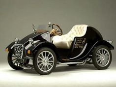 Tesla's horseless carriage - it's electric, of course!