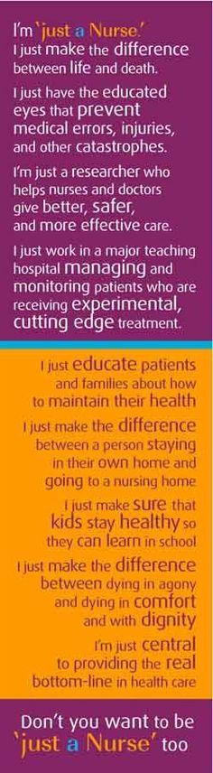 Inspiration: Just a nurse #Inspiration #Quotes #Nurses
