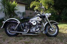 Harley Panhead, Harley Davidson Knucklehead, Harley Bikes, Harley Davidson Motorcycles, Hd Motorcycles, Vintage Motorcycles, Vintage Iron, Classic Bikes, Cool Bikes