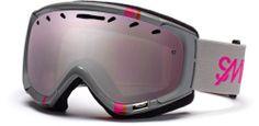 New Smith Phase Ski Snowboard Goggles Gray Ignitor
