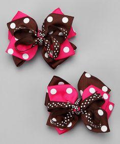Love the polka dots!