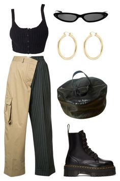 """""""Untitled #1956"""" by lucyshenton ❤ liked on Polyvore featuring Balenciaga, Monse, Dr. Martens and Isabel Marant"""