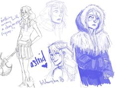 Astrid, from How to Train Your Dragon THERE'S GONNA BE A SEQUEL!!!!!!!!!!!!