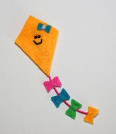 Kite Klips / Hair Accessory / Hair fastener by ImpulsiveCreativity, $12.00