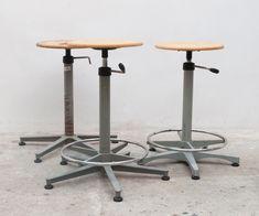 Industrial swivel stools by Friso Kramer for Ahrend De Cirkel