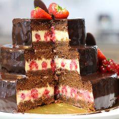 Recette gâteau d'anniversaire chocolat à étages