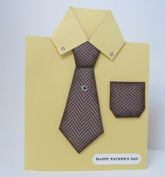 Personally Yours : Men's Shirt Card