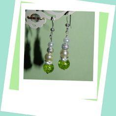 Tres ravissantes boucles d oreilles perles