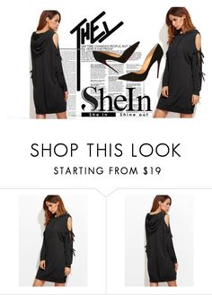 """""""#sheIn"""" by softic013 ❤ liked on Polyvore featuring Nicki Minaj and Christian Louboutin"""
