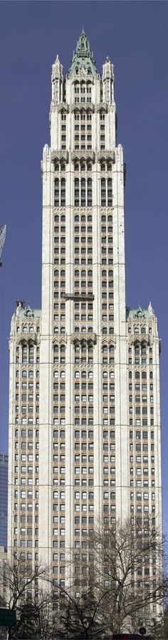 Woolworth Building | New York | Cass Gilbert | 1913