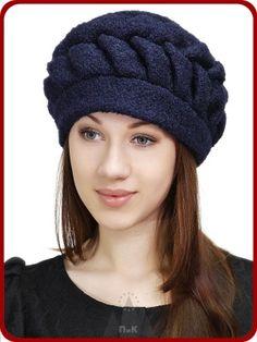 Берет Луиза - Женские шапки - Из кашемира