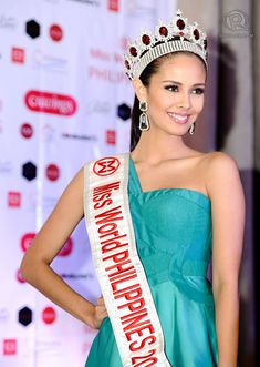 Megan Young, Miss World the Philippines PRIDE. Happy Independence today to all Filipinos ^_^ - from ‪ Miss World 2013, Megan Young, Filipina Beauty, Hot Hair Styles, Asian Hair, Beauty Pageant, The Most Beautiful Girl, Pattern Fashion, Sexy