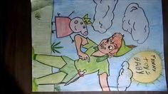 Peter pan 2015 e Peppa Pig Desenhando e colorindo by Funnytoysbaby