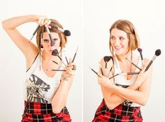 No Excuses, Y'all! 15 Easy Ways to Clean Makeup Brushes via Brit + Co.