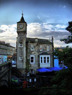 Pizza Express Clock Tower in Stockbridge ~ Edinburgh, Scotland Scotland Uk, England And Scotland, Edinburgh Scotland, Scotland Travel, England Uk, Cool Places To Visit, Places To Travel, Stockbridge Edinburgh, Visit Edinburgh
