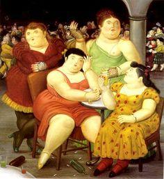 Fernando Botero Angulo (born April is a Colombian figurative artist. Norman Rockwell, Renoir, Frida Diego, Illustrator, Plus Size Art, Art Ancien, Fat Art, Camille Pissarro, Ludwig