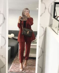 Modern Hijab Fashion, Hijab Fashion Inspiration, Islamic Fashion, Muslim Fashion, Mode Inspiration, Modest Fashion, Casual Hijab Outfit, Hijab Chic, Moda Hijab