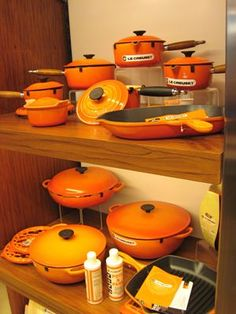 Orange - Flame Le Creuset