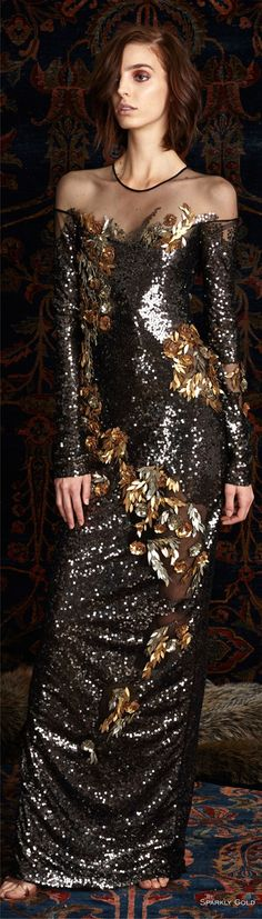 Pamella Roland Pre-Fall 2016 Fashion Show jαɢlαdy Women's Dresses, Elegant Dresses, Fashion Dresses, Couture Fashion, Runway Fashion, Fashion Show, Womens Fashion, Fashion Design, Beautiful Gowns