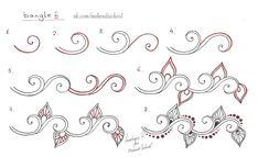 Мехенди. Пошаговое рисование – 27 фотографий