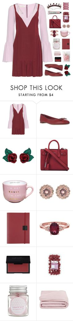 """Modern Disney Princess : Aurora"" by vip-beauty ❤ liked on Polyvore featuring Marni, Tommy Hilfiger, Atelier Swarovski, Yves Saint Laurent, Ted Baker, Undercover, Frette and modern"