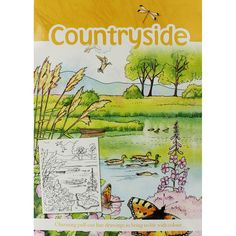 English Countryside Coloring Pagesadult
