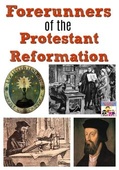 Forerunners of the Protestant Reformation World History Lessons, Teaching History, Martin Luther Reformation, Renaissance And Reformation, Protestant Reformation, Church History, Story Of The World, Mystery Of History, Social Studies