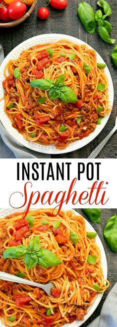 Instant Pot Spaghett...