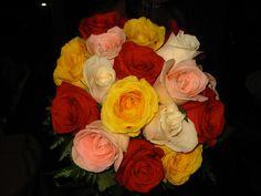 2007 Wedding - Bandit Golf Club House, New Braunfels, TX- Colorful Bridal Bouquet