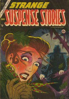 Comic Book Cover For Strange Suspense Stories v1 #18