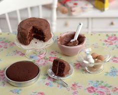 Miniature Chocolate Cake Baking Set