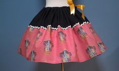 Harry Potter Gryffindor House Skirt, Harry Potter, Adjustable Waist, All Sizes, OOAK, Ready to Ship