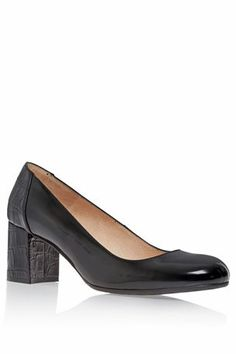 Square Toe Court Shoes