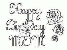 Happy Birthday Mom Coloring Page . 24 Happy Birthday Mom Coloring Page . Happy Birthday Mom Coloring Page Twisty Noodle Mom Coloring Pages, Ninjago Coloring Pages, Unicorn Coloring Pages, Printable Coloring Pages, Adult Coloring, Coloring Worksheets, Colouring Sheets, Coloring Books, Happy Birthday Grandpa