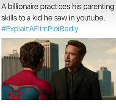 A billionaire practices his parenting skills to a kid he saw in YouTube. #explain a filmplotbadly