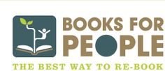 Booksforpeople.org - Keep old books, cds, and dvds out of landfills and into the hands of those who need it!  Materials are either donated directly to a youth development fund or local libraries, or sold and profits are donated to those same organizations!
